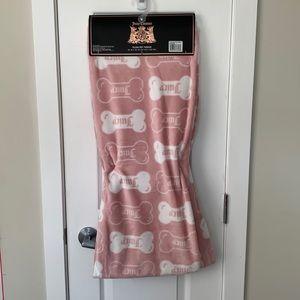 🐶 Juicy couture pet throw blanket 🐱